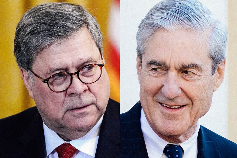 William Barr; Robert Mueller