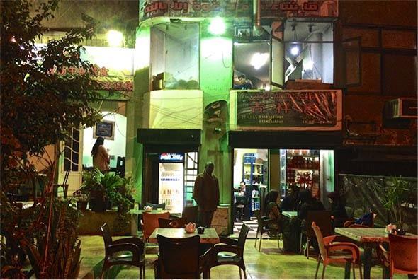 """The Chinese Muslim Restaurant"" in Abbasiya, Cairo as of December 2014."