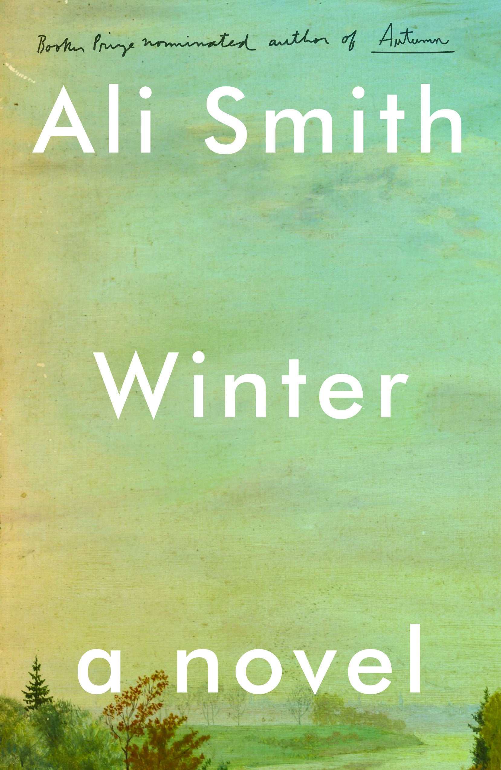 Book jacket for Winter, by Ali Smith.