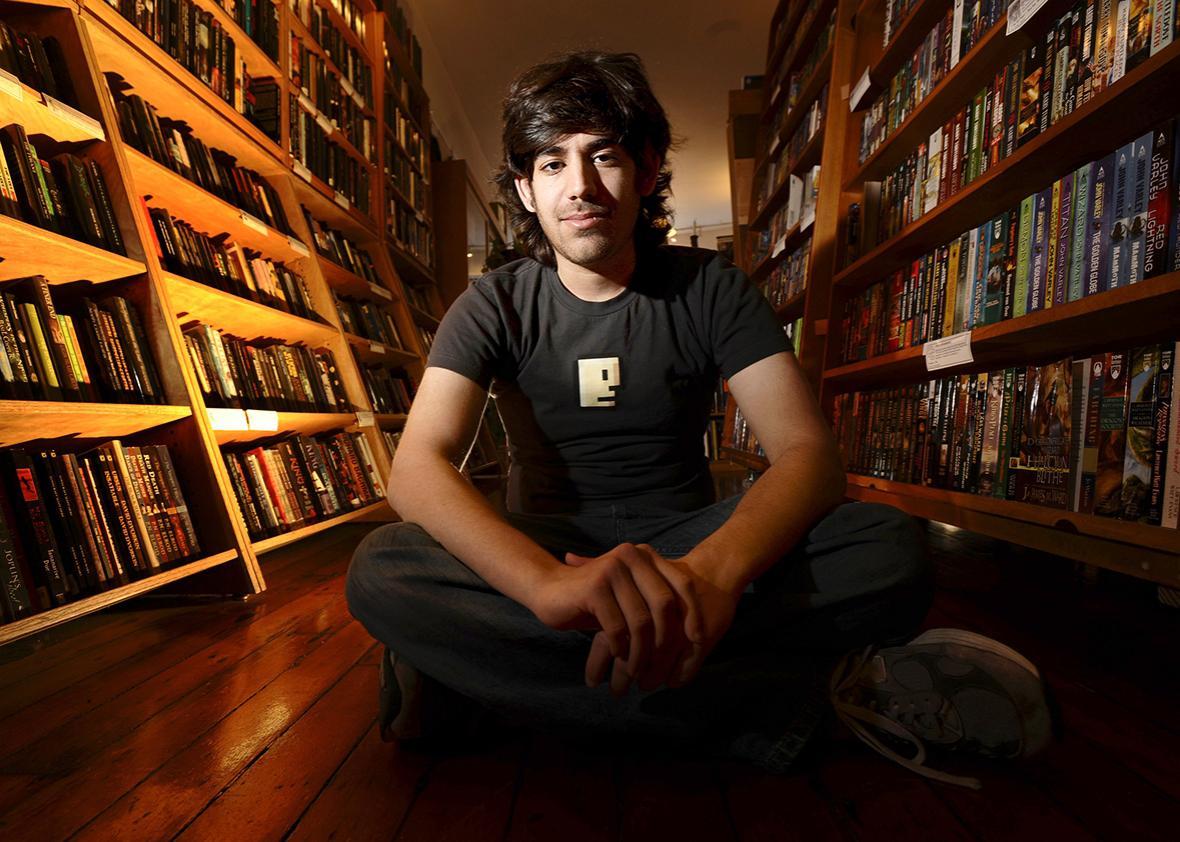 Aaron Swartz 2008.