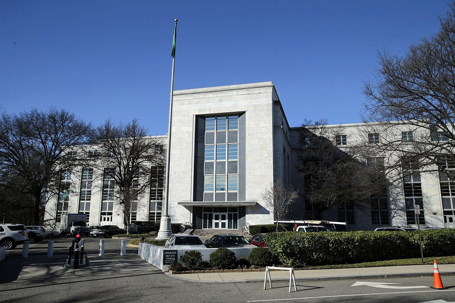 The Saudi Arabian Embassy in the United States