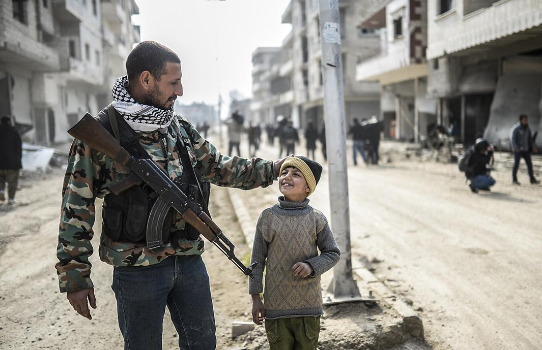Jan. 28, 2015: Kobane, Syria