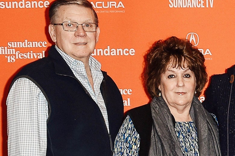 Joseph and Darlene Kiger at the Sundance Film Festival.