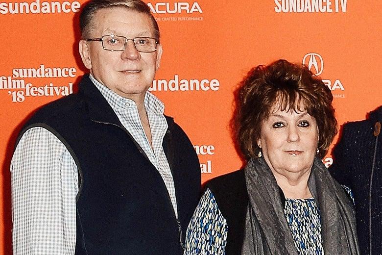 Joseph and Darlene Kiger at the Sundance Film Festival.