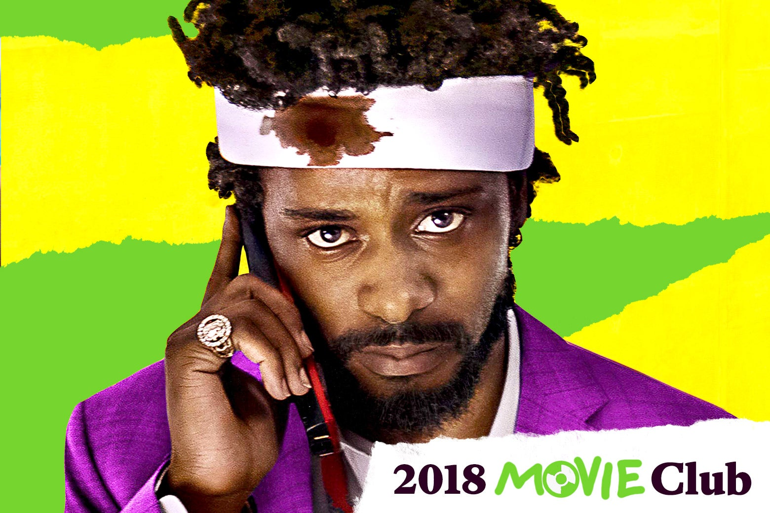 Lakeith Stanfield in Sorry To Bother You.
