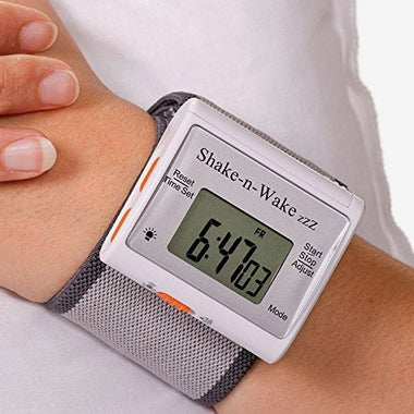 Tech Tools Shake-N-Wake Silent Vibrating Personal Alarm Clock.