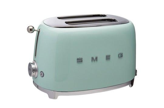 Smeg 2-slice toaster.