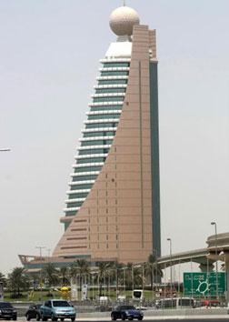 Etisalat Telecommunications company tower. Click image to expand.