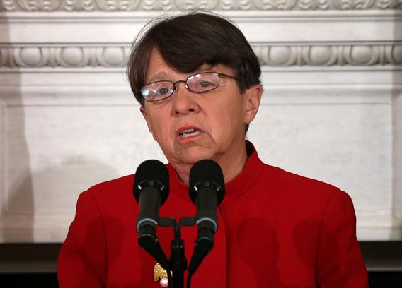Former U.S. Attorney for the Southern District of New York Mary Jo White