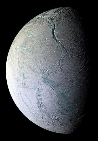 Enceladus close-up