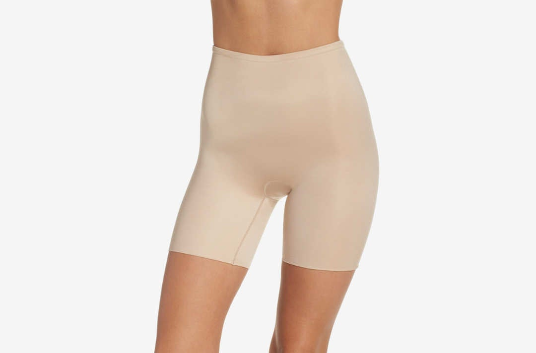 Spanx Power Conceal-Her Mid Thigh Shaping Shorts.