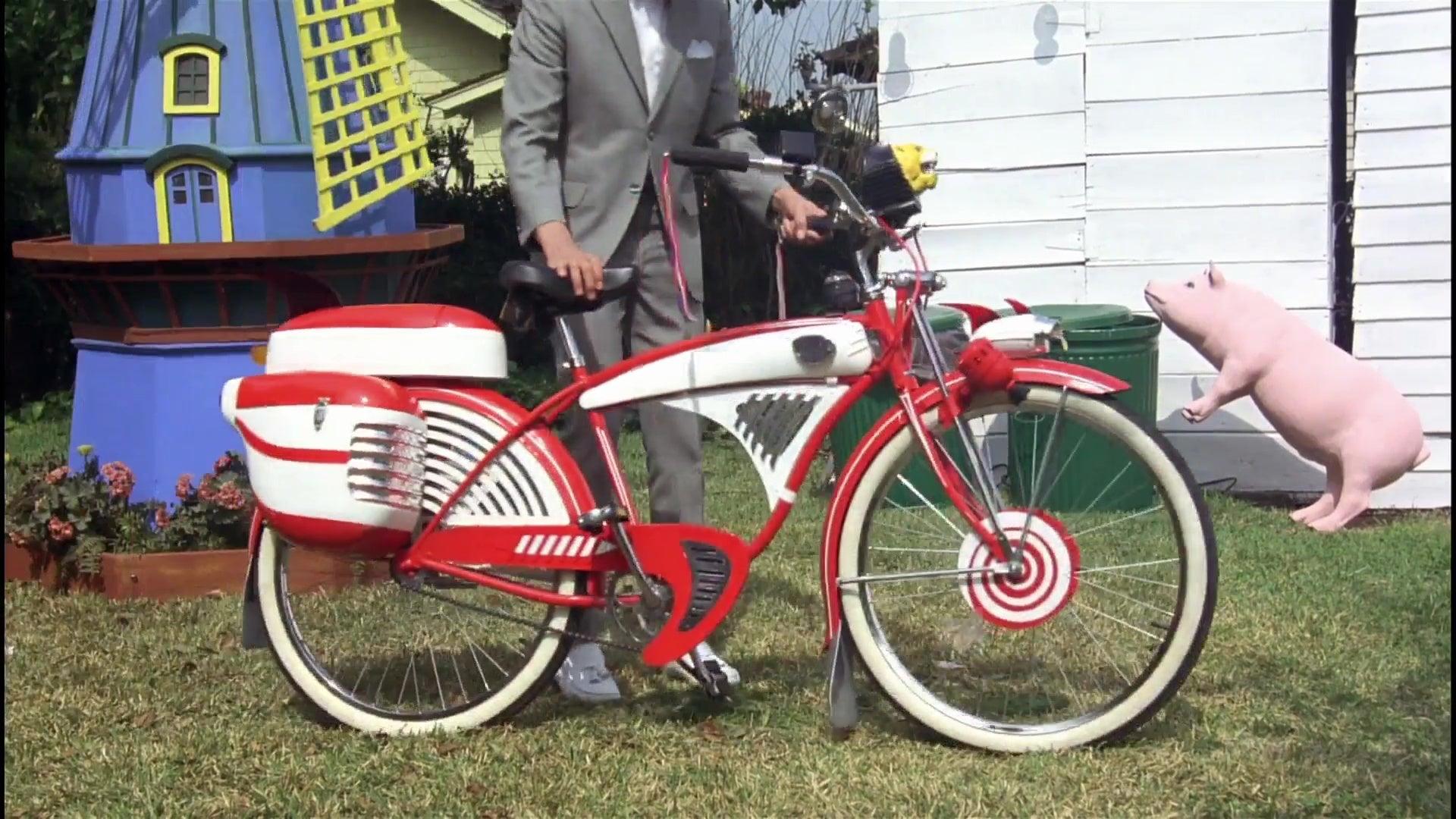 Pee-Wee Herman's bike.