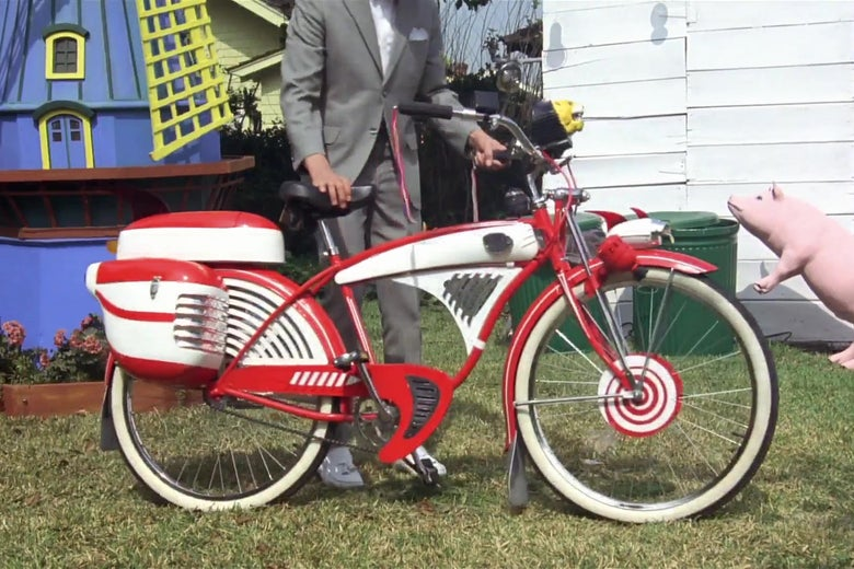 Pee-Wee Herman's bike.