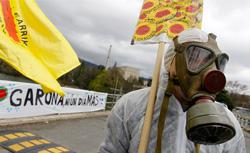 Anti-nuclear demonstration. Click image to expand.
