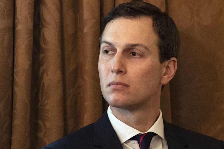 Jared Kushner attends a Cabinet meeting at the White House in Washington, DC, on January 2, 2019.