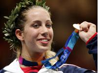 Zagunis showed her mettle, but NBC showed only the medal