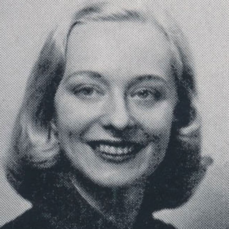 Yearbook photo of Betty Jean Shea.