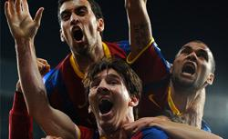 Barcelona soccer team. Click image to expand.