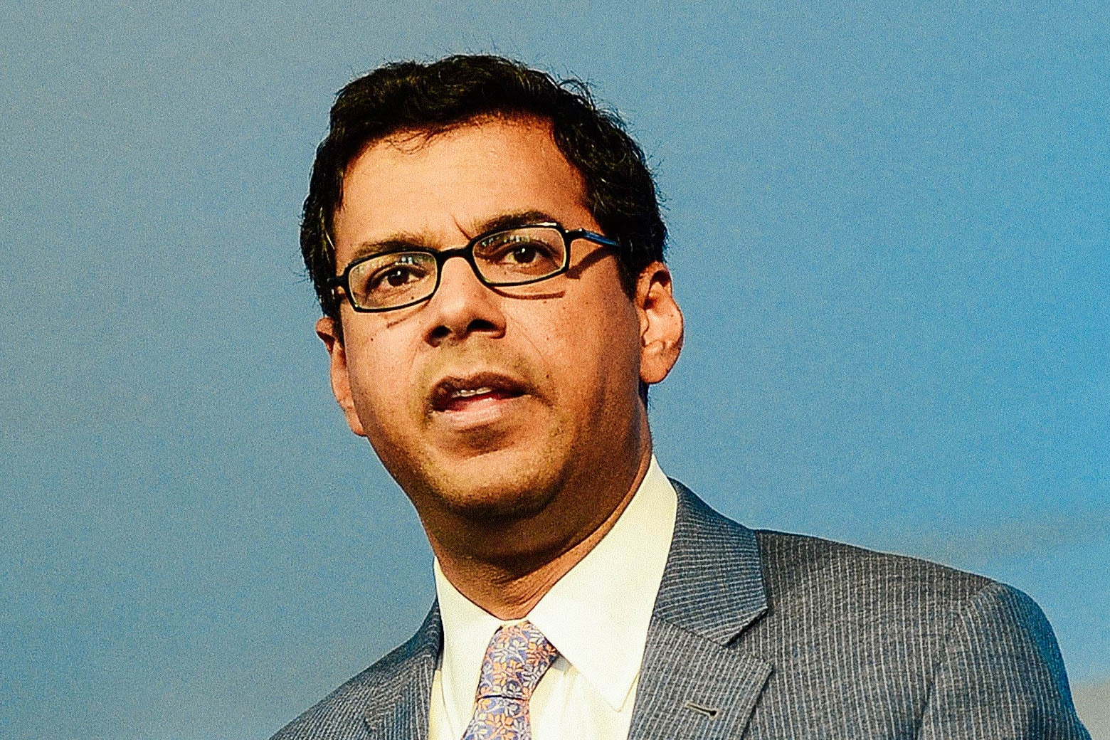 Professor Atul Gawande, M.D. delivers speech during Geisinger Health System A Century of Transformation and Innovation Symposium at Pine Barn Inn on September 25, 2015 in Danville, Pennsylvania.