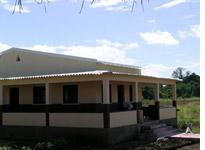 The AIDS clinic in rural Mangunde nears completion         Click image to expand.