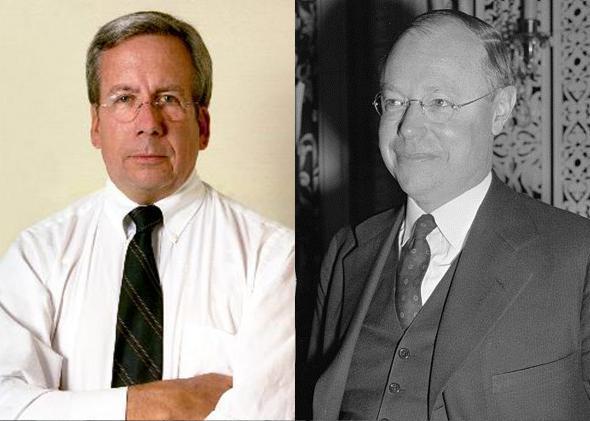 Ohio judge William O'Neill and Senator Robert Taft of Ohio