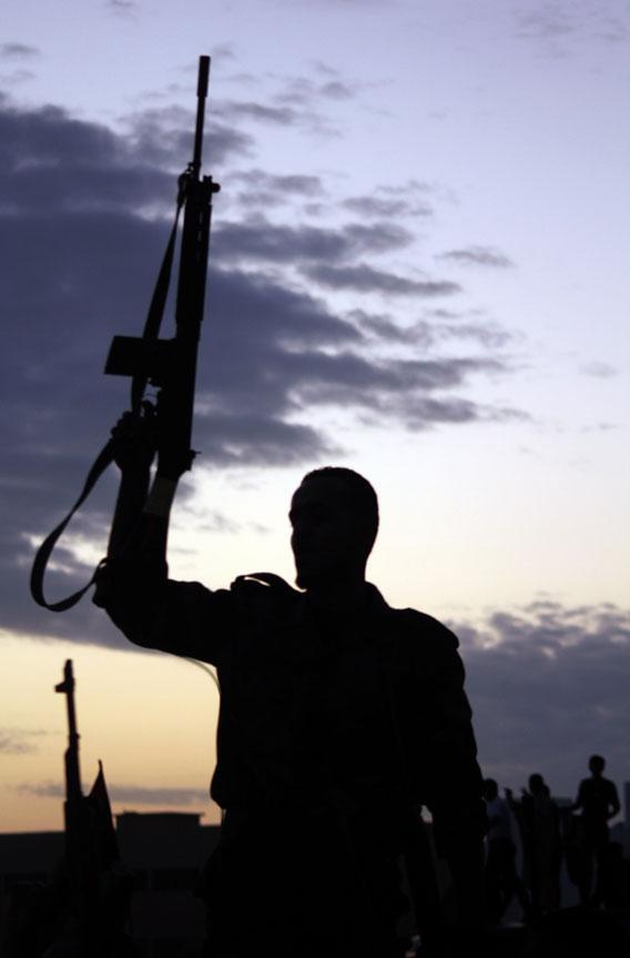 Libya and guns