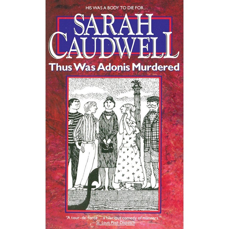Cover of Thus Was Adonis Murdered.