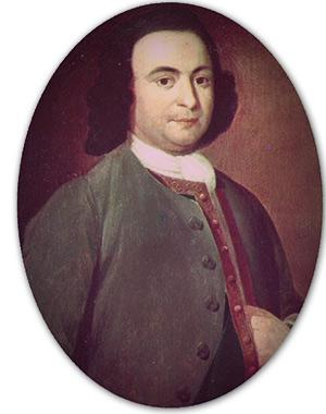 George Mason (1725-1792), American patriot, statesman, and delegate from Virginia to the U.S. Constitutional Convention.