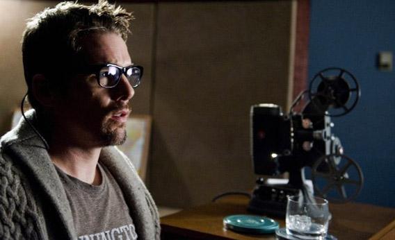 Ethan Hawke as Ellison Oswalt in Sinister.