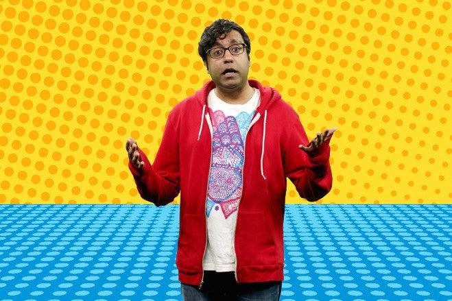 Hari Kondabolu in The Problem With Apu.