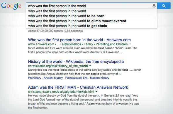 Google autocomplete: Not as weird, dark, or fun as it used