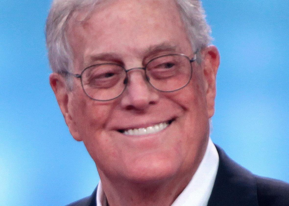David Koch in Columbus, Ohio