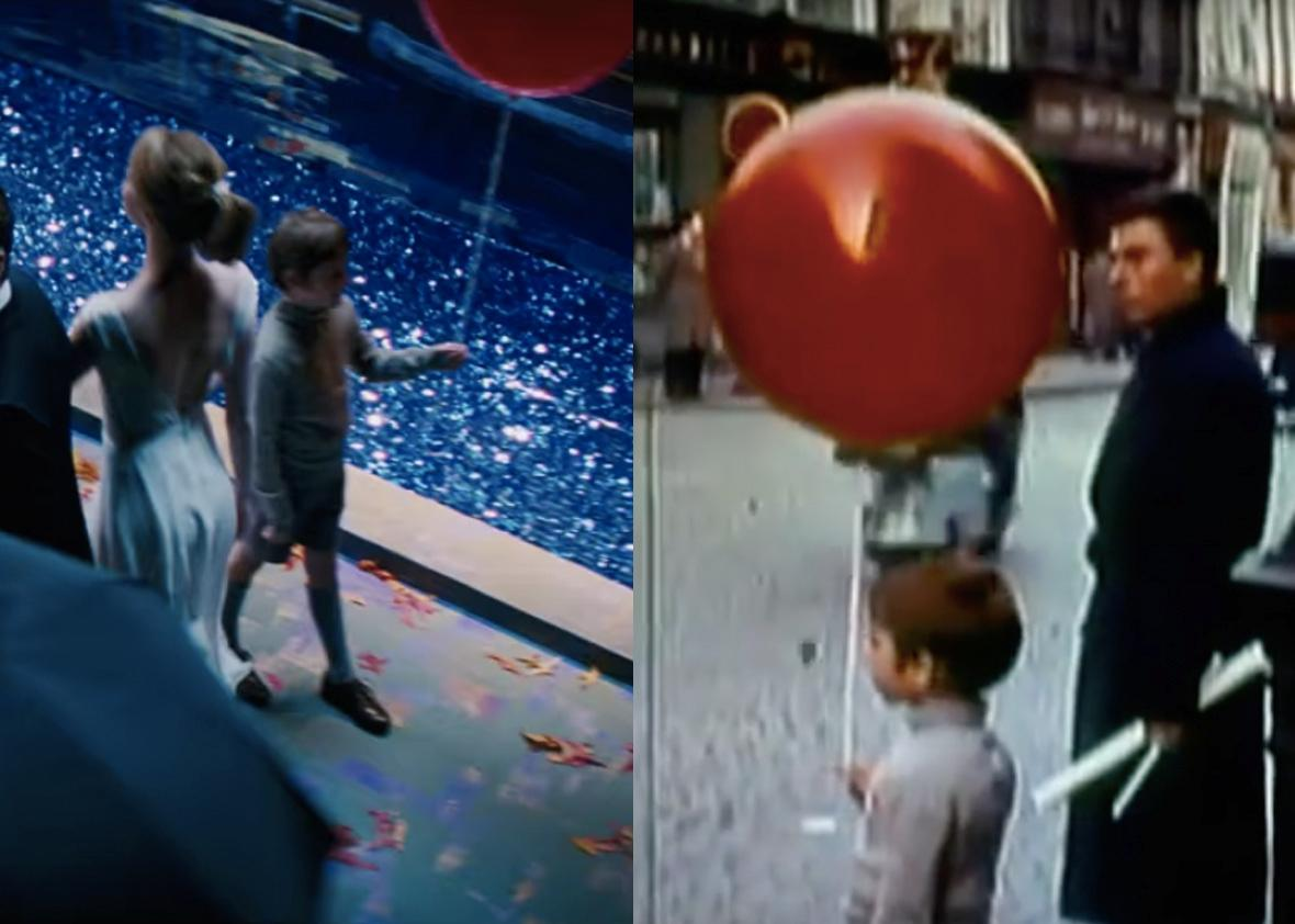 Left: La La Land. Right: The Red Balloon.