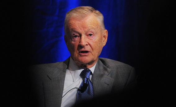 Former US national security advisor Zbigniew Brzezinski.