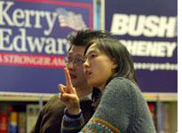 Asian-American voters.