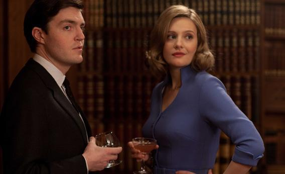 Bill Kendall (Tom Burke) and Bel (Romola Garai).
