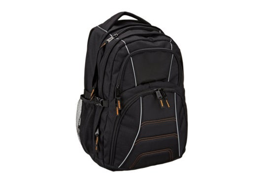 AmazonBasics backpack for laptops.