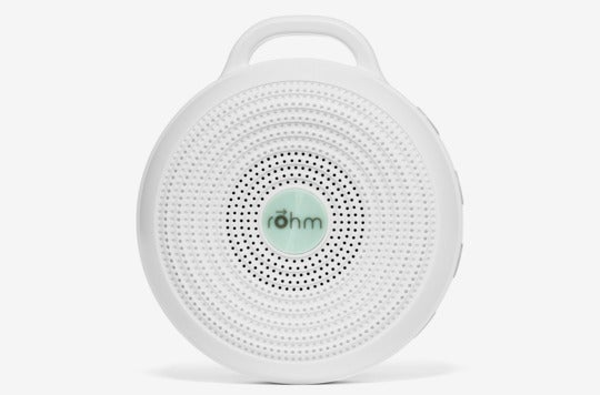 Marpac Rohm white noise sound machine.