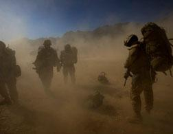 U.S. Marines in Afghanistan. Click image to expand.