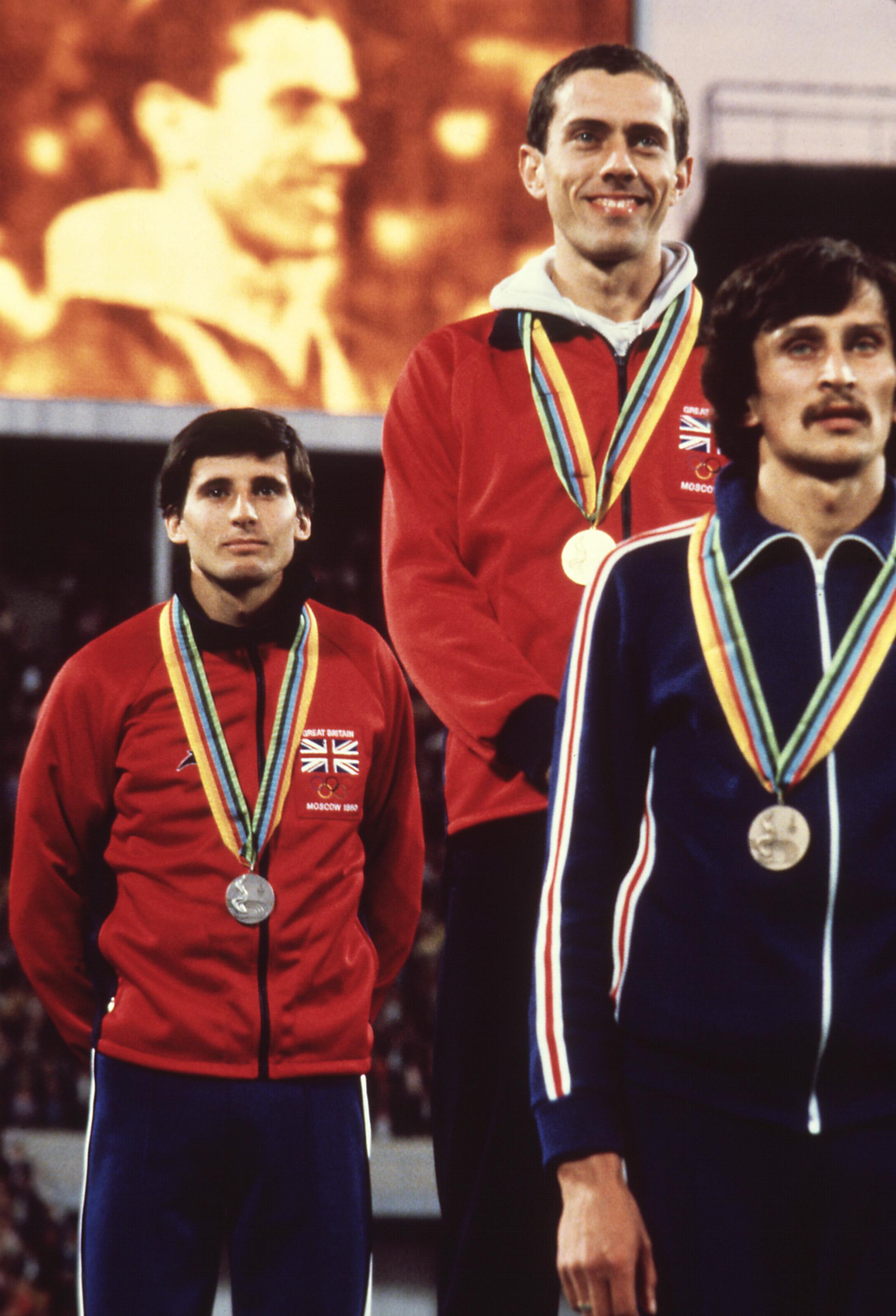 1980 Olympics podium