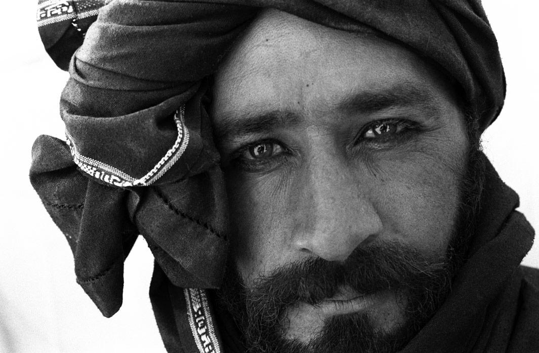 Internally Displaced Persons from a nearby IDP camp  outside Kandahar, Kandahar Province, Afghanistan on August 12. 2004