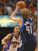 Steve Nash and Dirk Nowitzki. Click image to expand.