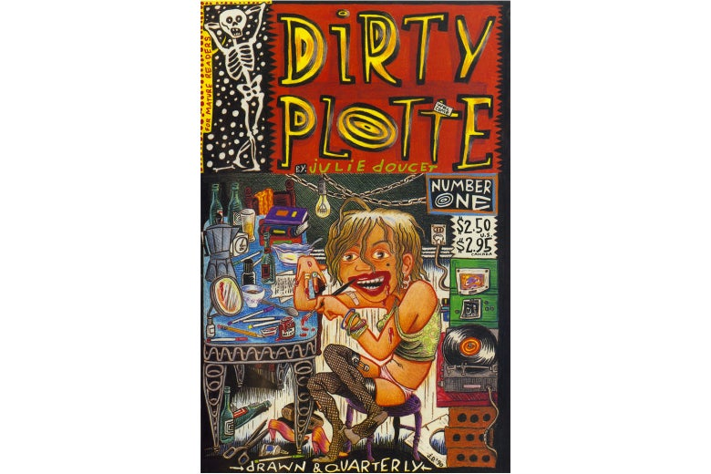 The cover of Dirty Plotte.