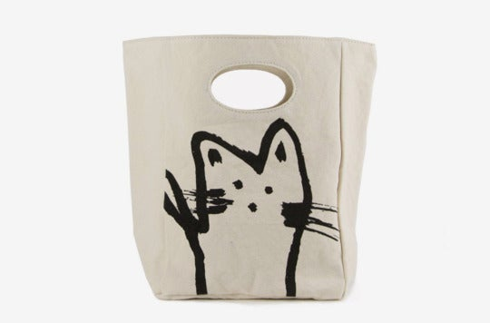 Fluf Organic Cotton Lunch Bag.
