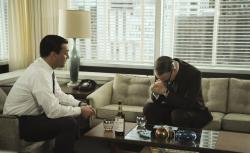 Don Draper (Jon Hamm) and Lane Pryce (Jared Harris)
