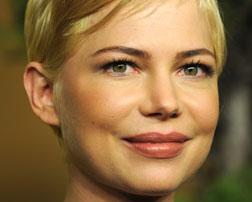 Actress Michelle Williams. Click image to expand.
