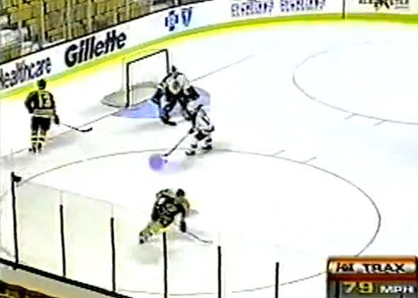 FoxTrax 1996 All-Star Game Preview, featuring Fox's Glow Puck.