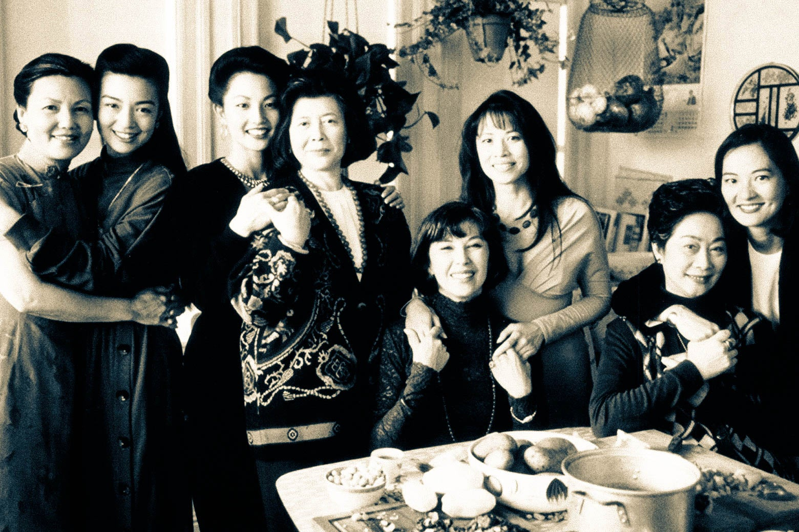 The women of The Joy Luck Club.