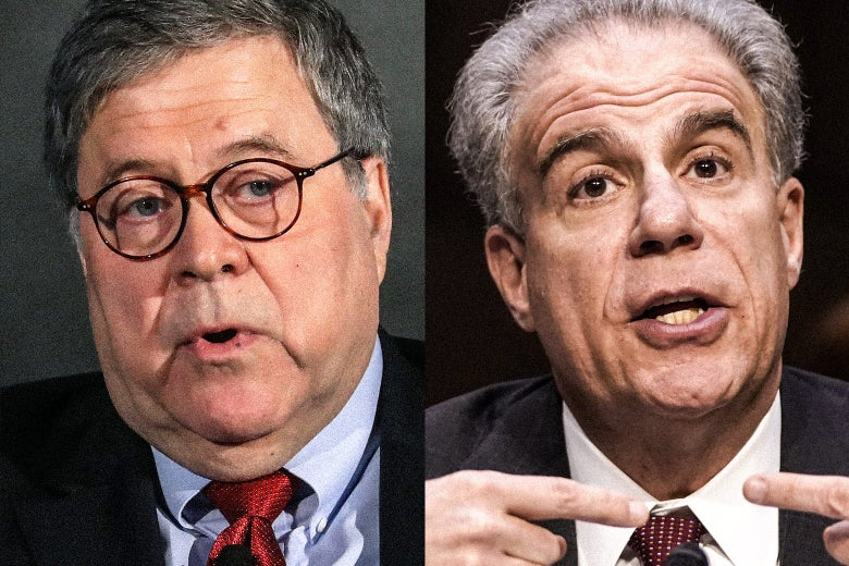 Side by side images of Barr and Horowitz