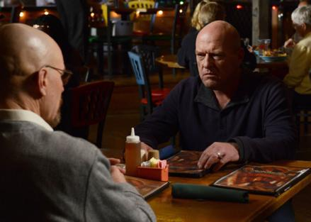 Character of Hank Schrader in Breaking Bad.